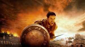 Wallpaper of Russell Crowe from movie