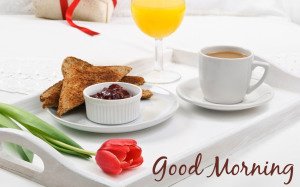 Good Morning Yummy Tea Wallpaper Download