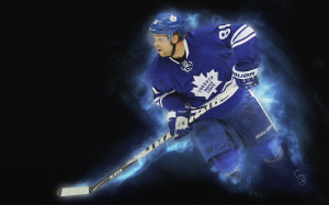 Cool wallpaper of NHL player Phil Kessel