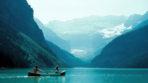 Lake Louise Natural Wallpaper from Canada