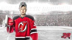 Hockey Player Martin Brodeur Wallpaper for Desktop