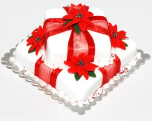 Christmas Cake HD Wallpaper